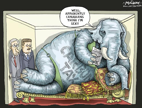 A Carbon Tax in Canada - The Elephant in the Room...