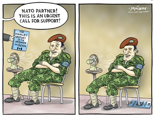 NATO Ignores the Manley Report