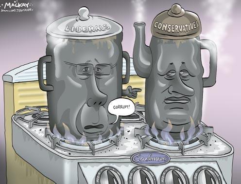 Liberals Call Conservatives Corrupt - Pot Calling Kettle Black?