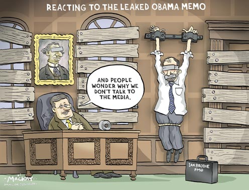 Brodie, the Conservatives and the Leaked Obama Memo