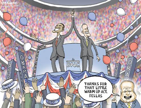 US Presidential Race Heats Up: McCain vs Obama