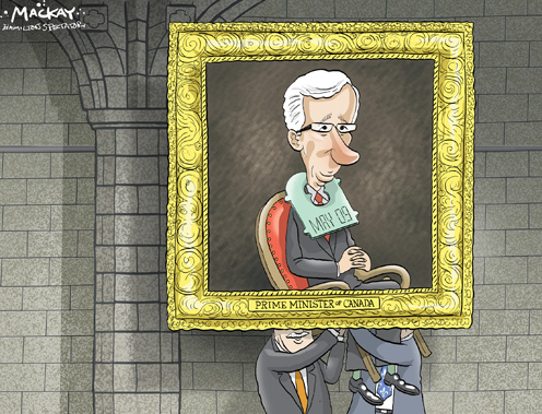 Coalition Prime Minister Stéphane Dion Comes with a Expiry Date