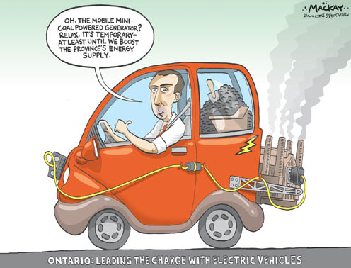 McGuinty's Misguided Approach to Green Automobiles