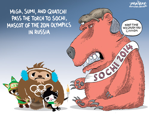 The Rivalry Between Vancouver 2010 and Sochi 2014