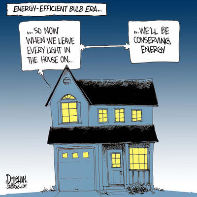 Energy Saving Light Bulbs in Canada
