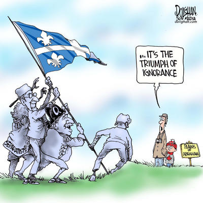 The Plains of Abraham and the Ignorance of Quebec Separatists