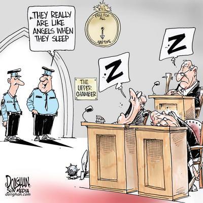 "The ""Sleepy"" Canadian Senate"