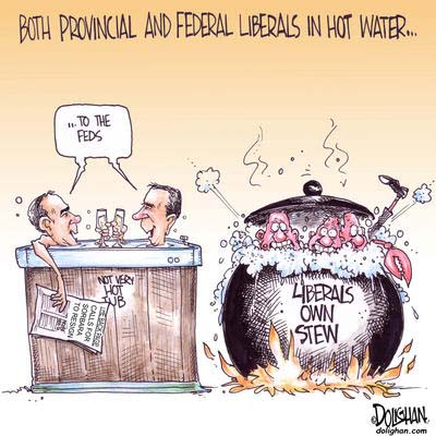 Provincial and Federal Leaders Feel the Heat