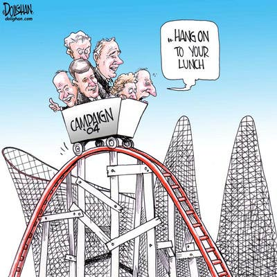 Roller Coaster Federal Election of 2004