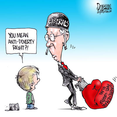Dion and the Liberal Party's Anti-Poverty Strategy
