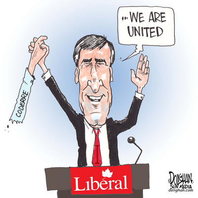Ignatieff and Coderre - Are the Liberals Really United?