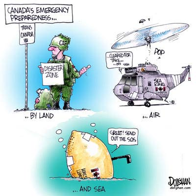 Emergency Preparedness and the Underfunded Military in Canada