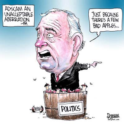 Paul Martin and the Bad Apples of Ad Scam