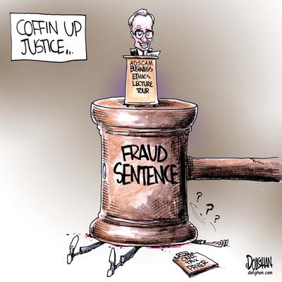 Liberal Sponsorship Scandal Political Cartoon