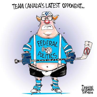 Team Canada and the Bloc Québécois
