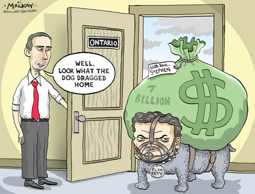 Flaherty Delivers More Money to Ontario for Infrastructure
