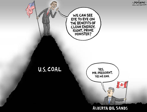 US Coal or Alberta Oil Sands - What's Really Dirty Energy?
