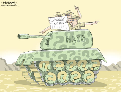 NATO in Afghanistan - Not Sure Which Direction to Take