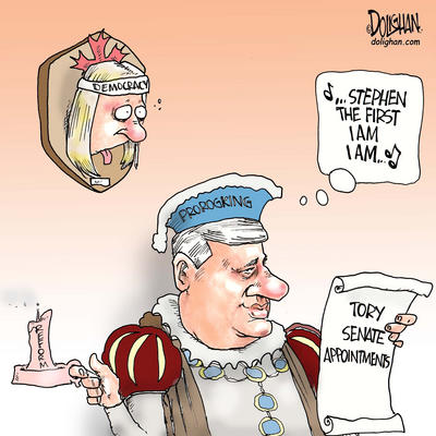 Harper, Prorogation and Canadian Democracy
