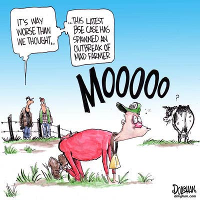 Farmers and Mad Cow Disease